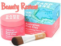 SAND&SKY Australian Pink clay mask Chemical Peel At Home, Dry Sensitive Skin, Tighten Pores, Facial Cleansers, Clay Masks, Even Skin Tone, Beauty Review, Give It To Me, Skin Care
