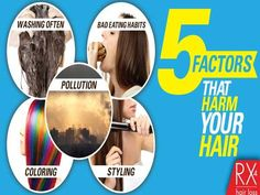 5 FACTORS THAT HARM YOUR HAIR. Click the image to find the best product to help you with hair loss.