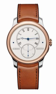 F.P. Journe Historical Anniversary Tourbillon Watch Celebrates His Status As A Watchmaker