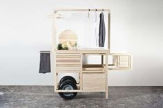 COS Releases a Minimalist Pop-Up Cart to Showcase its Stylish Clothes Published: Aug 8, 2013 • References: chmararosinke and trendland Swedi...