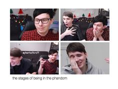 THIS IS SO TRUE OMG I DON'T EVEN KNOW WHY I'M YELLING THIS IS WHAT THE PHANDOM HAS DONE TO ME
