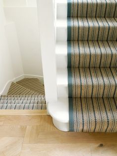 Contemporary Staircase by Amory Brown