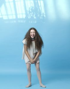 Lamantine fall spring 2014 Soft and dreamy styles worn by actor Fatima Ptacek #fashion #kids