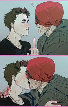 because i like it : Deadpool x Spiderman