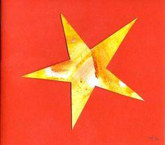 -17- #minimal  weihnachtskarten #Sterne