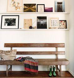 shelf art, domino magazine