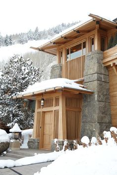 Aspen Mountain Lodge in Colorado by The Office of Thierry W Despont, Ltd.