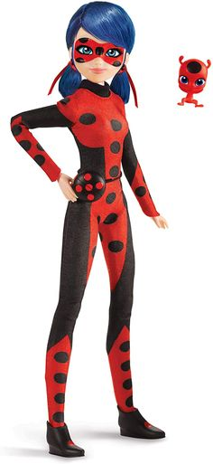 New Miraculous Ladybug dolls from Playmates. Ladybug, Cat Noir, Rena Rouge, Queen Bee and more - YouLoveIt.com Miraculous Ladybug Queen Bee, Miraculous Ladybug Villains, Barbie Fashionista Dolls, Disney Princess Birthday, Super Hero Outfits, Disney Crossovers, Barbie Movies, Cat Noir, Miraclous Ladybug
