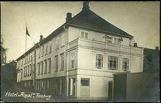 Vestfold fylke TØNSBERG, Hotel Royal. Nærbilde postg. 1916