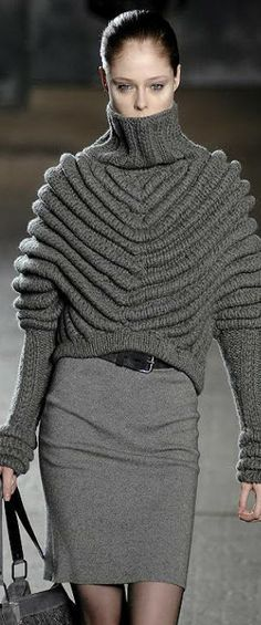 Runway knitted style ♥✤ | KeepSmiling | BeStayClassy