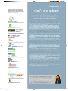Furniture News Magazine: Partner Comment May 2014 on the Irish Interiors Market by Elish Bul-Godley via slideshare