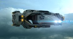 Spaceship by Alex Peryan | Sci-Fi | 3D | CGSociety