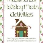 This bundle includes 20 activities to be used in your classroom during the Christmas and Winter holiday season! Most items available for individu...