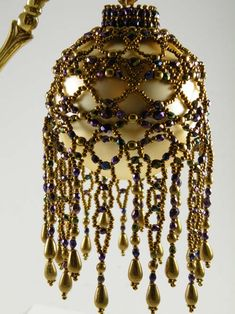 The Victorian Ornament is made with rows of netting and picots. Description from…