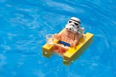 Storm Trooper Sunbathing