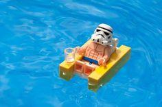 Storm Trooper Sunbathing