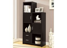 Opentip.com: Monarch Specialties I 2533 Cappuccino Hollow-Core Left Or Right Facing Storage Unit