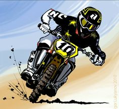 Motocross Tattoo, Motorcycle Tattoos, Motorcycle Art, Dirt Bike Gear, Dirt Bike Racing, Dirt Bikes, Enduro Vintage, Foto 3d, Stunt Bike