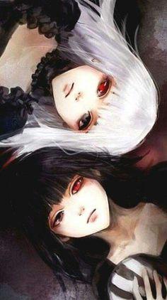 Kuroma i Nashiro  Haha jeszcze pamiętam ^^