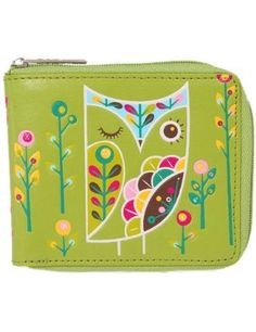 Gama-Go owl wallet x - I used to have a Gama Go owl keychain and I loved it! Super cute and vegan :) #green #owls