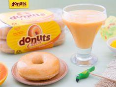 Aproveita a fruta da época para acompanhar com Donuts