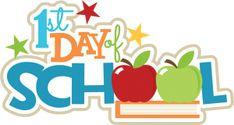 1st Day Of School SVG scrapbook title apple svg file free svgs school svg cut files