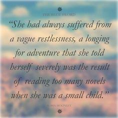 a vague restlessness