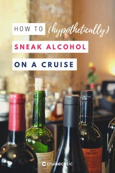 How to Sneak Alcohol on a Cruise: A Hypothetical (and Highly Discouraged) Approach How To Sneak Alcohol, Best Alcohol, Packing For A Cruise, Cruise Travel, Smuggle Your Booze, Beer Bucket, Cruise Critic, Risky Business, Cards
