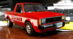 1981 VW Rabbit Sportruck - Scale Auto Magazine - For building plastic & resin scale model cars, trucks, motorcycles, & dioramas