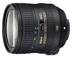 Objectif reflex Nikon AF-S FX VR ED 24-85 mm f/3.5 – 4.5 série G Nikkor