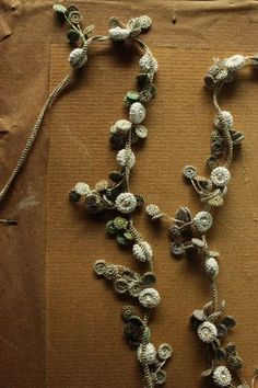 wonderful crochet necklace