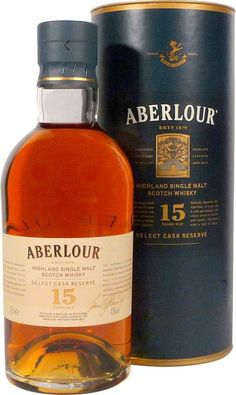 Aberlour Select Cask Reserve 15 Years
