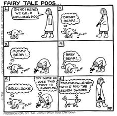 Fairy Tale Poos - Off The Leash by Rupert Fawcett