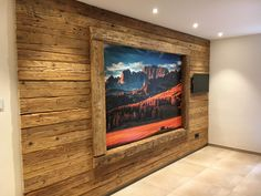 waste wood boards Source by Wood Panel Walls, Wooden Walls, Sauna House, Wall Design, House Design, Dining Room Walls, Ship Lap Walls, Front Door Decor, Old Wood