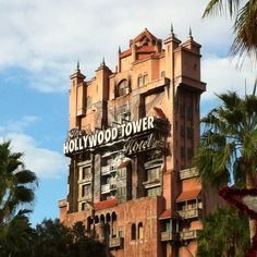 Disney World Tower of Terror!  My FAVORITE ride at The Studios!!!