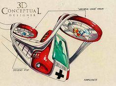 Ambulance Concept | Pinteresting project | Pinterest | Ambulance ...