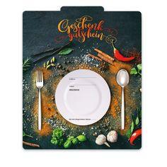 Gutscheinkarte für Restaurants und Gasthöfe Music Instruments, Fine Dining, Italian Restaurants, Things To Do, Gifts, Musical Instruments