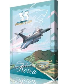 Share Squadron Posters for a 10% off coupon! Kunsan AB, Korea 35th Fighter Squadron F-16 #http://www.pinterest.com/squadronposters/