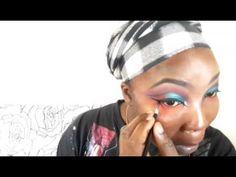 HALLO GODDESS BRAID TUTORIAL ON MY BLONDE SEMI NATURAL HAIR - YouTube