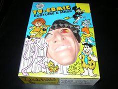 Ben Cooper CHUCK BARRIS Gong Show Vintage Halloween Costume In Box 1978   eBay