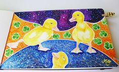 """"""" 21 PatiMagis """" Watercolours, acrylics and tempera on my Birds Journal : )"""