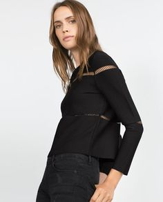 Image 3 of CUT OUT SWEATER from Zara