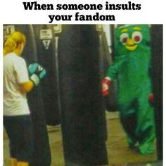 Gumby fight meme FRESH MEMES
