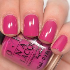 """opi  """"Spare Me A French Quarter"""" from the New Orleans collection."""