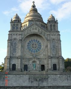 Santuário do Sagrado Coração de Jesus em Viana do Castelo- Portugal