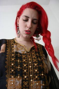 Elizabeth the First Tribal Coutute afghani dress