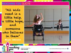 See potential, possibility, ability and beauty in every child you meet… Adaptive Sports, Adaptive Equipment, Special Education Quotes, Special Needs Quotes, Teacher Morale, Teaching Quotes, Sports Wheelchair, School Quotes, Special Needs Kids