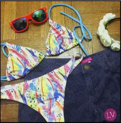 #fashion #fashionista #must #ootd #lasvaskas #LV #summer #cool #style #woman #color #glam #chic #bikini #flowers