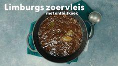 Stoofvlees uit Limburg (zoervleis) met ontbijtkoek - Recept - Allerhande Pudding, Desserts, Food, Seeds, Tailgate Desserts, Deserts, Puddings, Meals, Dessert