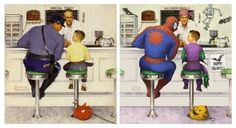 Norman-Rockwell-Spidey-570x310.jpg (570×310)